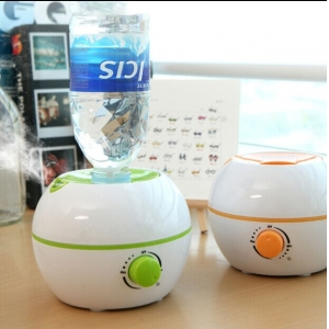 Romantic USB Mini Humidifier with Night Light