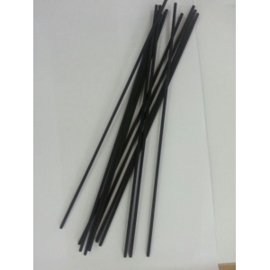 black polyester stick